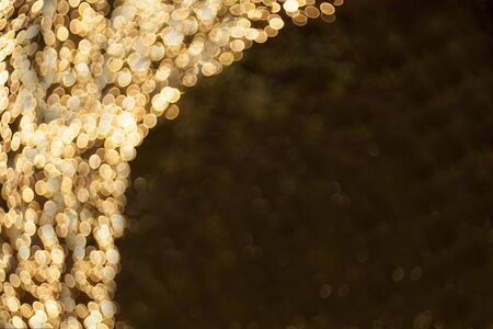 Lighting bokeh Christmas background