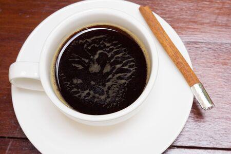 americano: A cup of americano  Stock Photo