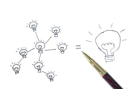 Network of a big idea