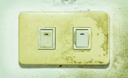 Old light switch  photo