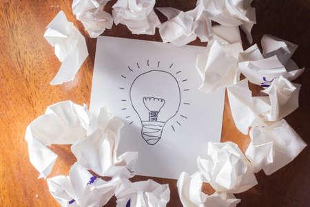 change concept: Get an idea