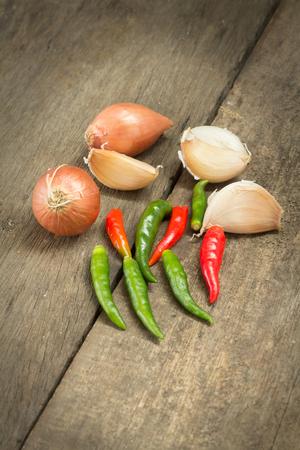 shallot: Garlic,shallot and chili