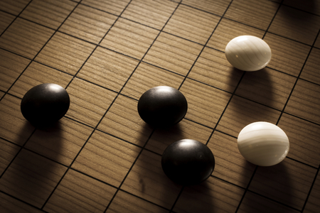 Go or Chinese chess,board game photo