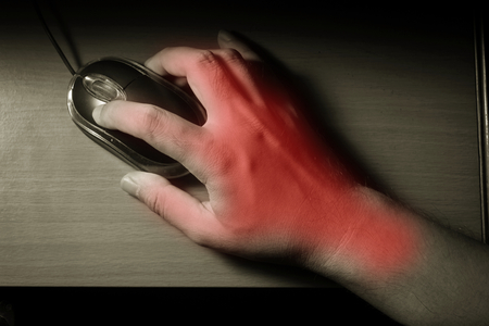 trigger: Trigger finger or Carpal Tunnel syndrome,pain from use computer mouse.