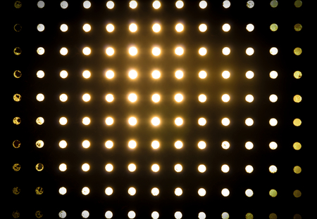 slits: Light pass through circle slits,background. Stock Photo