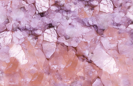 Purple Precious stone rock crystal,texture background.