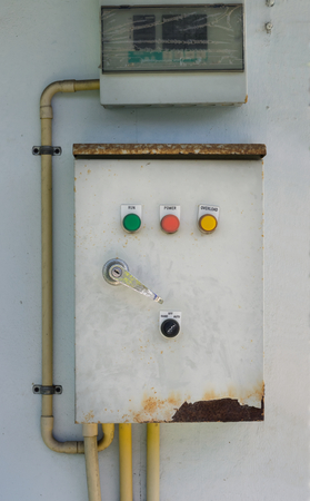Main electrical switching control box.