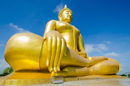 big buddha in thailand photo
