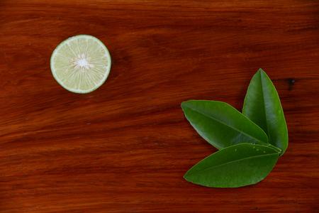 wooden insert: Lemon juice on the wooden floor With the insert text
