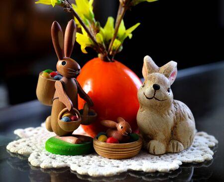 nostalgic: Easter Bunny nostalgic, friendly, colorful, child friendly