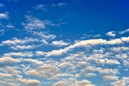 wadding: Background soft cloudy sky in the early morning time Stock Photo