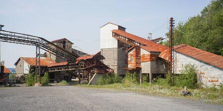 Alte verlassene und nutzlos Fabrikgebäude