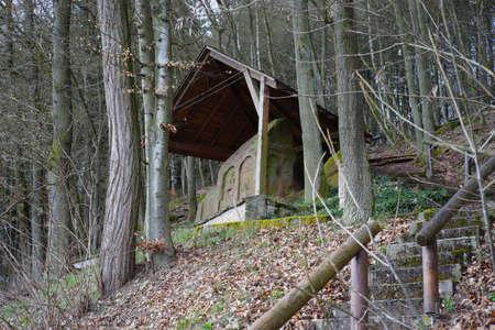 celt: Roman monument in Schweinschied, Germany, Rhineland-Palatinate