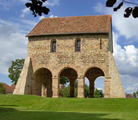 hessen: World Cultural Heritage Monastery Lorsch in Hesse Germany