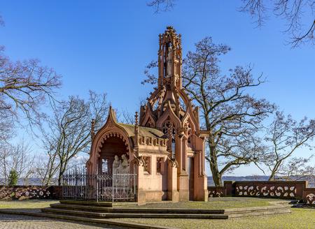 Rochus Kapelle Chapel above Bingen  Rhine, Rhineland Palatinate, Germany