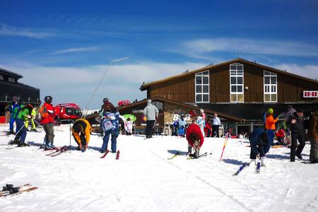 nevada: Sierra Nevada ski Granada Spain