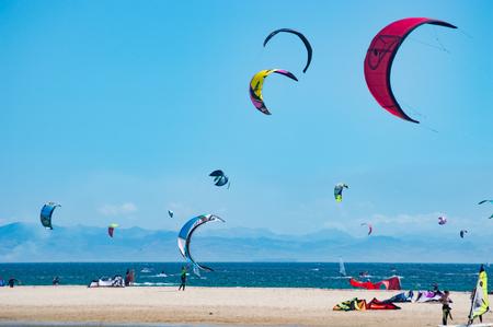 Vlieger surf Tarifa Cadiz Spanje