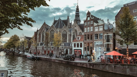 amsterdam canal: Europe Netherlands Amsterdam canal Stock Photo