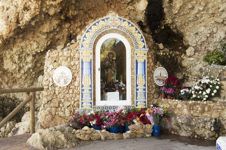 Virgin of Carmen, Rincon de la Victoria, Malaga Spain