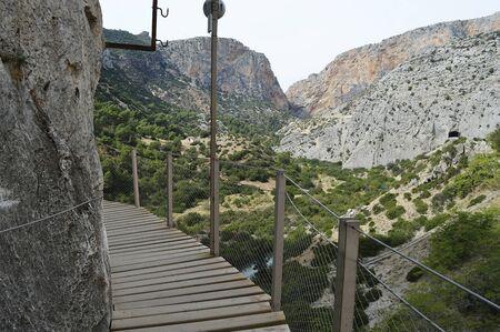 malaga: Kings walk malaga andalucia spain