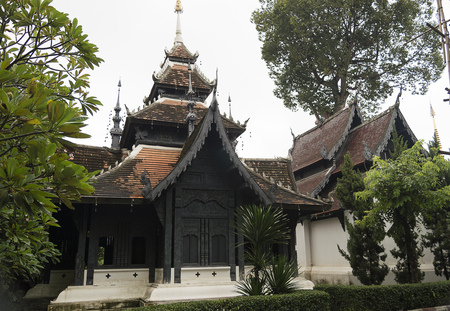 Wat Chiang Man was built by Mangrai[1]:209 in 1297 CE as the first temple of Chiang Mai on the location of Wiang Nopburi, a fortified town of the Lawa people which had been used by King Mangrai as a camp during the construction of his new capital city Chiang Mai