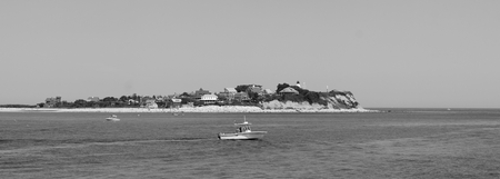 Gurnet point near Plymouth, MA Stok Fotoğraf
