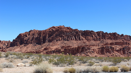 nevada: Rock formation in Valley of Fire, Nevada