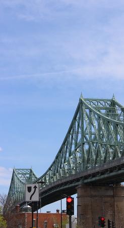 Jacques-Cartier Bridge in Montreal, Quebec, Canada