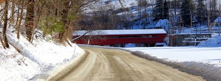 Taftsville Covered Bridge, Vermont over Ottauquechee River