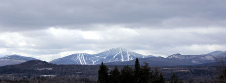 Jay Peak in Vermont viewed from Canada