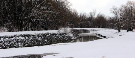 Little River in winter