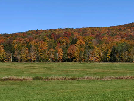 Fall in the Eastern townships with great foliage