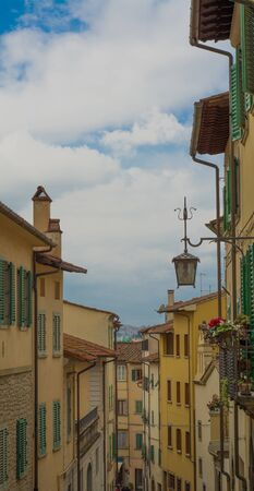 potenza: The old town of Arezzo Stock Photo