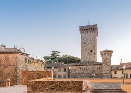 historical periods: Cathedral of the collegiate Lucignano Arezzo, Tuscany
