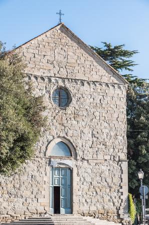 ecclesiastical: San Domenico church in Cortona city, Tuscany - Italy