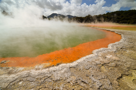 hot water geothermal: Champagne Pool