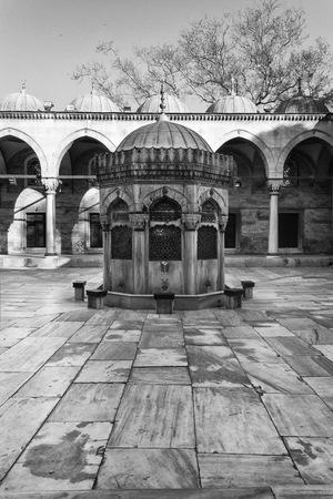 sultana: Sultana Mosques fountain