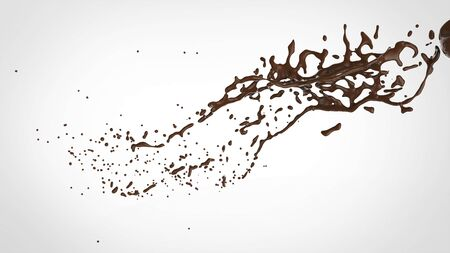 chocolate splash: chocolate splash