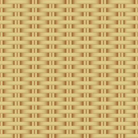 Abstract rattan wicker seamless pattern.
