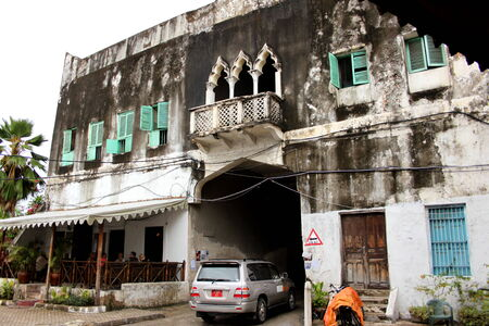 influenced: Eastern influenced architecture in Stonetown Zanzibar