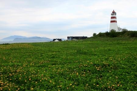 alesund: Alnes Lighthouse in Alesund Norway