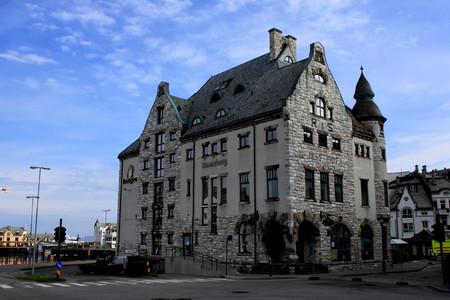 alesund: Architechture in Alesund Norway