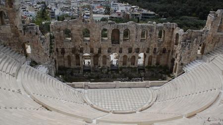 historic sites: Historic sites of Athens, Greece Stock Photo
