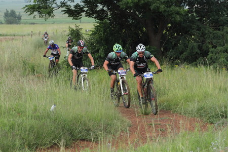gauteng: Mountain bike race in Johannesburg, Gauteng, South Africa