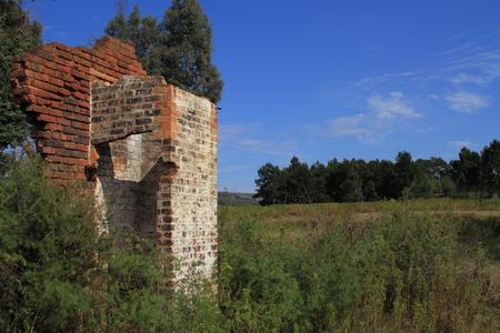 choke: Abandoned - ruins of an old home