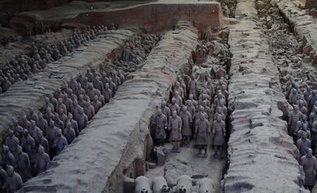 terracotta: Terracotta Army - Xian,Shaanxi, China Editorial
