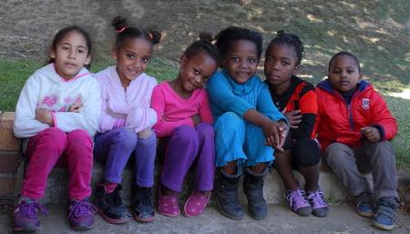 heartwarming: Preschool children Gauteng South Africa 2015