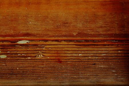 natural backgrounds: Weathered, warn, textured wood background - horisontal