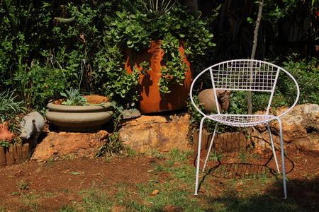 ponder: A quiet corner in the garden