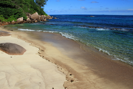secluded: A secluded beach on a tropical island